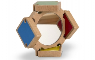 Colour Flap Mirror