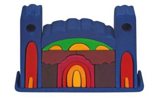 Large Blue Castle Puzzle
