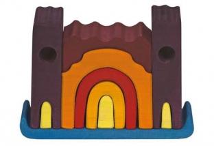 Small Violet Castle Puzzle