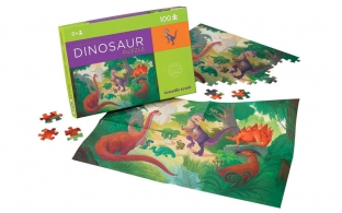 Dinosaur Kingdom Jigsaw Puzzle