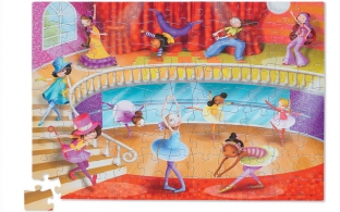 Dance Puzzle with Poster