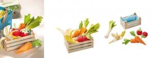 Soft Toy Vegetable Basket