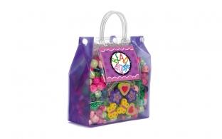 Purple Bead Bag