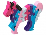 1 - 10 Horse Jigsaw