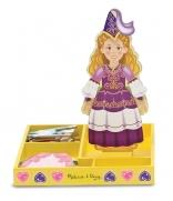 Princess Elise Magnetic Wooden Dress-Up Set