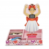 Nina Ballerina Magnetic Wooden Dress-Up Set
