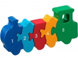Train 1 - 5 jigsaw
