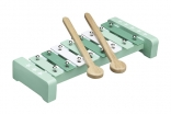 Mint Wood and Metal Xylophone