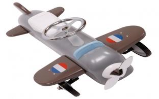 Retro Grey Plane