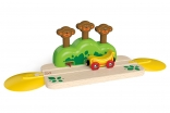 Monkey Pop-Up Track Toy