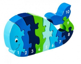 Whale number jigsaw