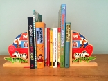 Lovely wooden bookends