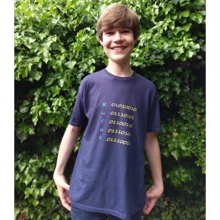 Personalised binary t-shirt