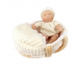 Bonikka Carry Cot and Doll