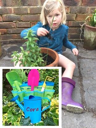 Personalised Gardening set for Children
