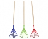 Leaf rake (assorted colours)