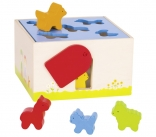 Farm Animals Shape Sorting Box