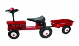 Red Ride-on Tractor