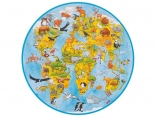 Large Animal World Puzzle