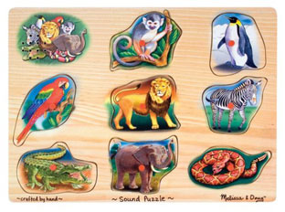 Classic Zoo Sound Puzzle
