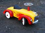 Racing Car - Flame Design