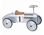 Racing Car - Retro Silver