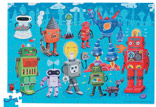 Robot Puzzle with Poster