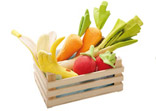 Soft Toy Vegetable Basket