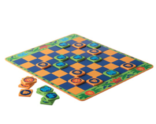 Jungle Draughts