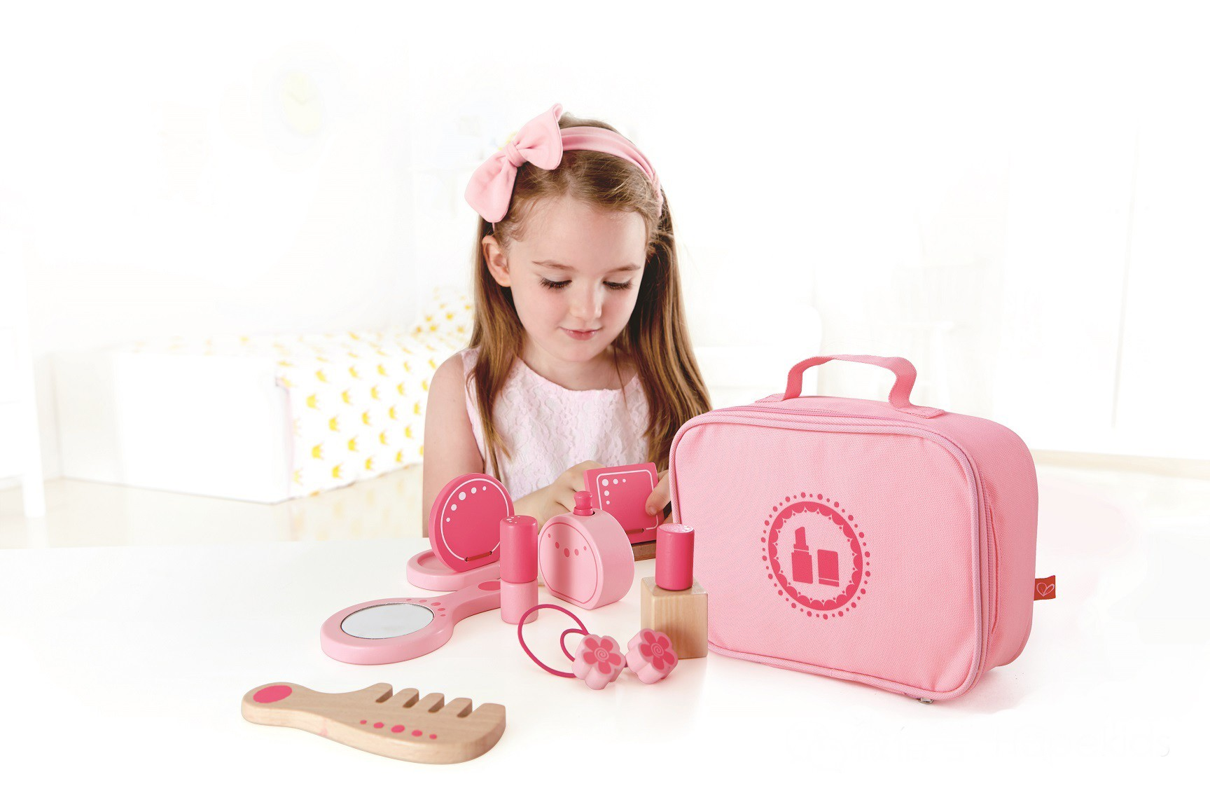 Personalised Hape Beauty Belongings Kit