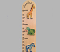 Personalised Safari Height Chart
